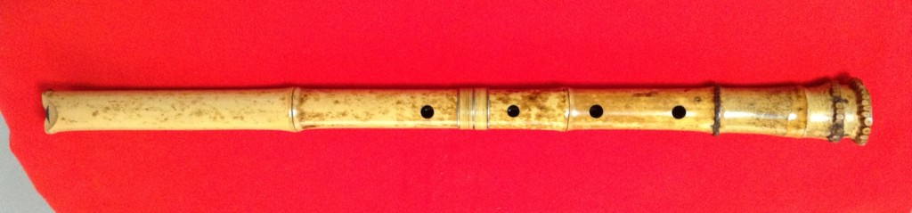 Old Spotted Bamboo Root End @ 444 Grams