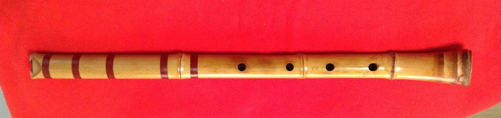 One Piece Bamboo Root End a.k.a. Nobekan Shakuhachi